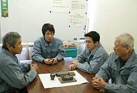 八菱工業の品質管理体制